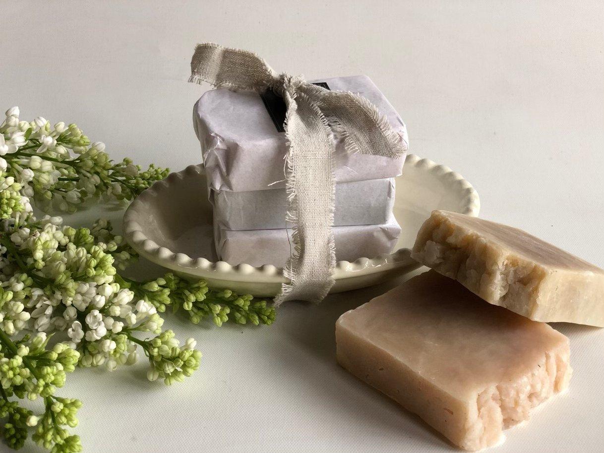Hand-made Soap Trio