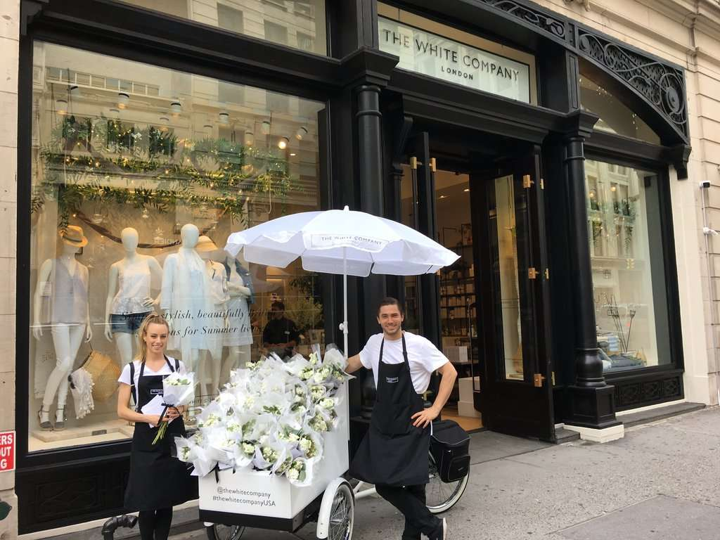 The White Company and Élan Flowers- A Beautiful Brand Partnership