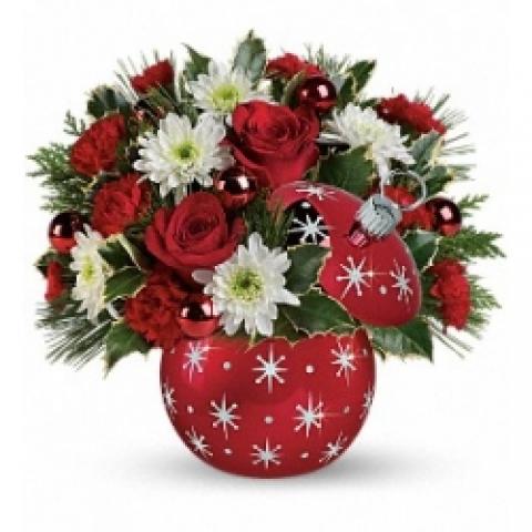 Radko Starry Ornament