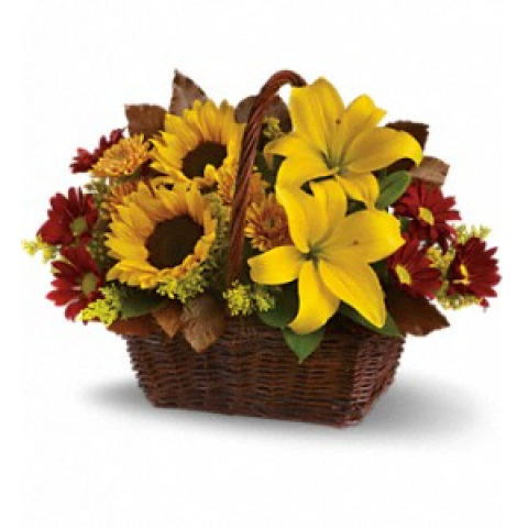 Golden Days Basket
