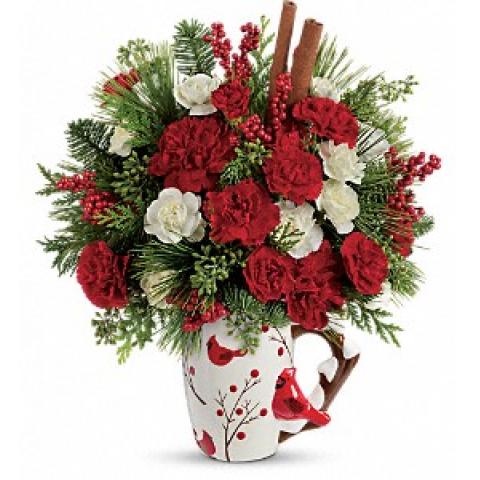Cardinal Christmas Mug