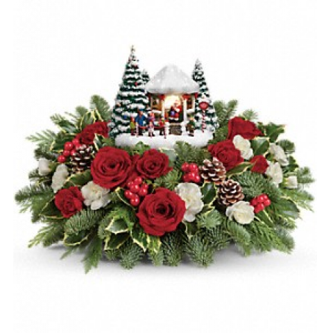 Thomas Kinkade's: Jolly Santa