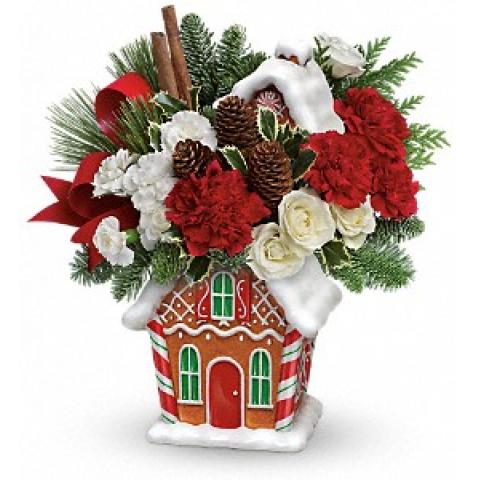 Gingerbread Cookie Jar