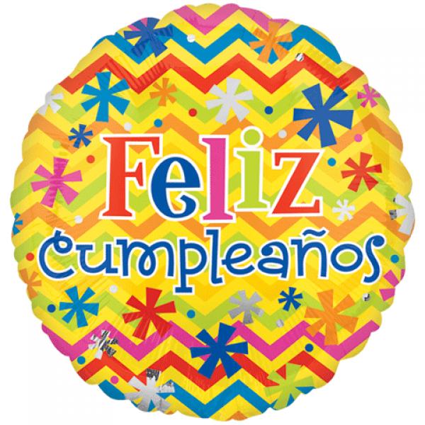 Feliz Cumpleaños Colorful