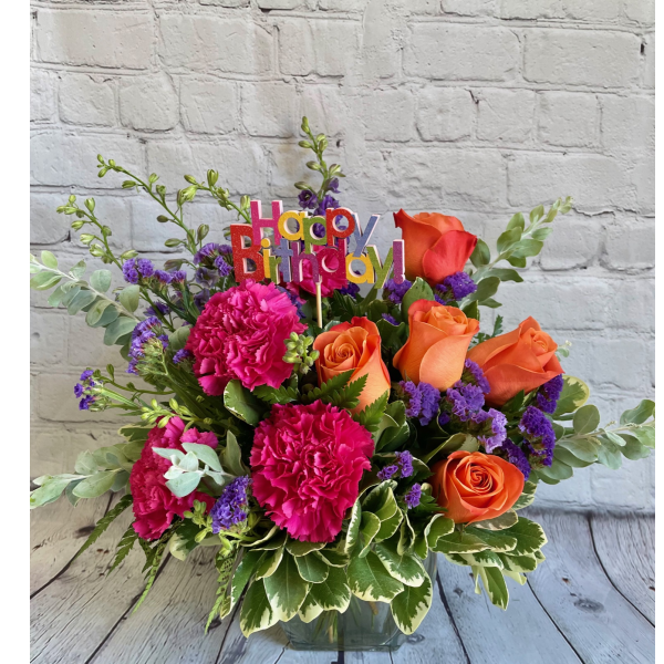 Be Bold B-Day Bouquet