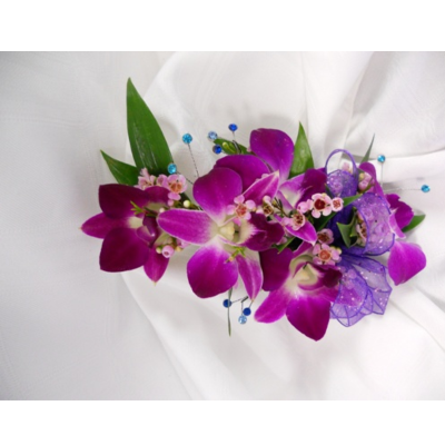5 Orchid Corsage