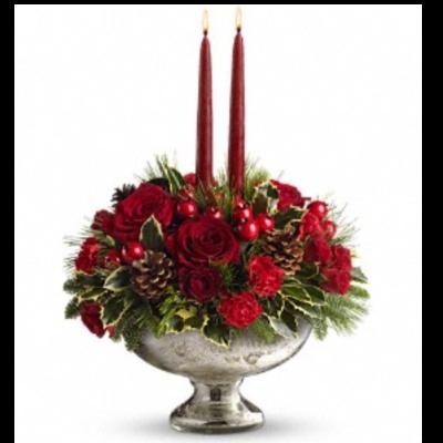 Mercury Bowl Bouquet