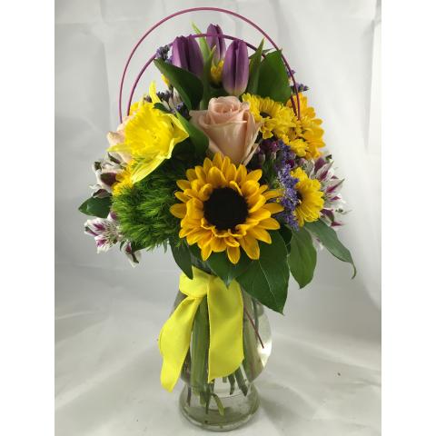 Easter Parade Vase