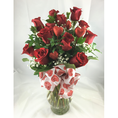 Valentine Roses Red
