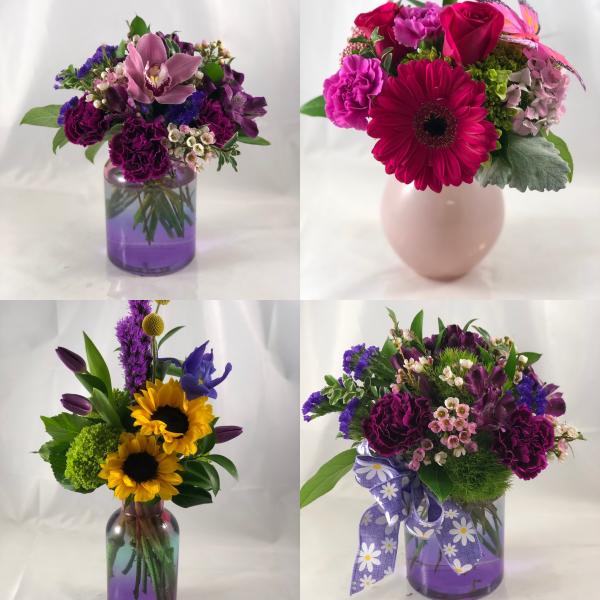 Assorted Admin Vases