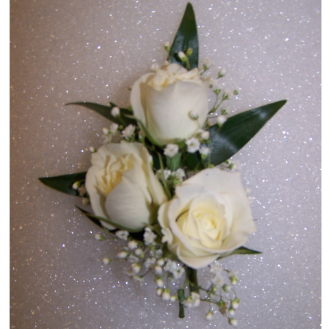Sweet Trio Boutonniere