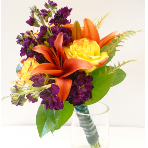 Vibrant Fall Mix Hand-tied Bouquet