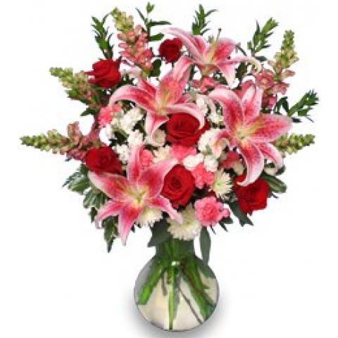 Perfect Passion Bouquet