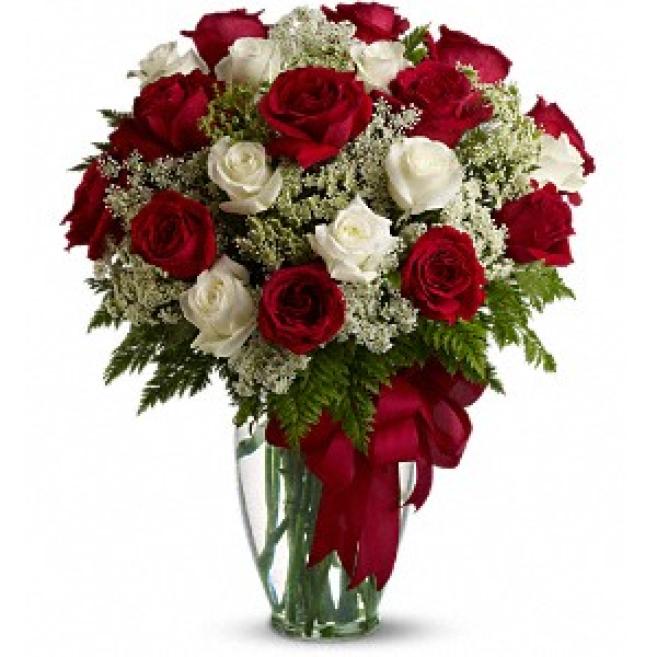 Love's Divine Bouquet - Long Stemmed Roses