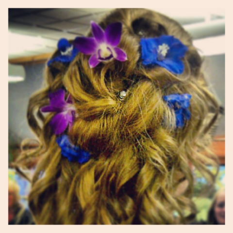 Jacques Flower Shop - Manchester JQP Prom Hair