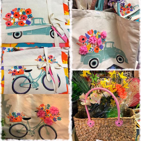 Jacques Flower Shop - Manchester JQ Floral Market Bags