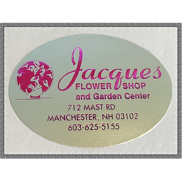 Jacques Flower Shop - Manchester JQ Jacques Gift Certificate