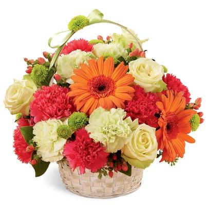 Jacques Flower Shop - Manchester Best Year Basket
