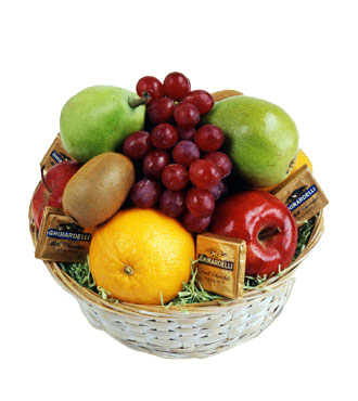 Jacques Flower Shop - Manchester FTD Fruit & Chocolate Basket