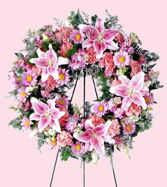 Jacques Flower Shop - Manchester Loving Remembrance Wreath