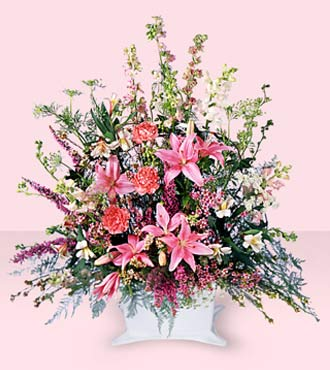 Jacques Flower Shop - Manchester Loving Sympathy Arrangement