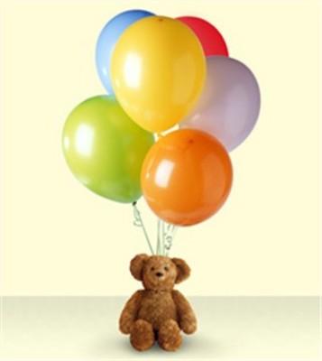 Jacques Flower Shop - Manchester JQ Bear & Balloons