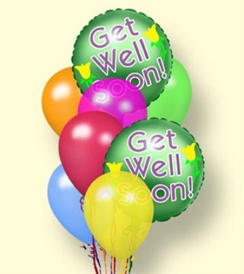Jacques Flower Shop - Manchester JQ Get Well Balloons