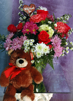 Jacques Flower Shop - Manchester JQV Teddy Love