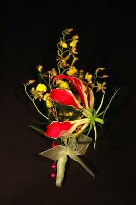 Jacques Flower Shop - Manchester JQW Gloriosa Lily Boutonniere