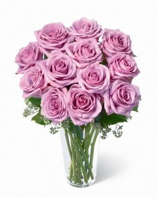 Jacques Flower Shop - Manchester Lavender PREMIUM Rose Bouquet