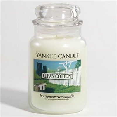 Jacques Flower Shop - Manchester Yankee Candle Clean Cotton Jar