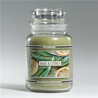 Jacques Flower Shop - Manchester Yankee Candle Sage & Citrus Jar