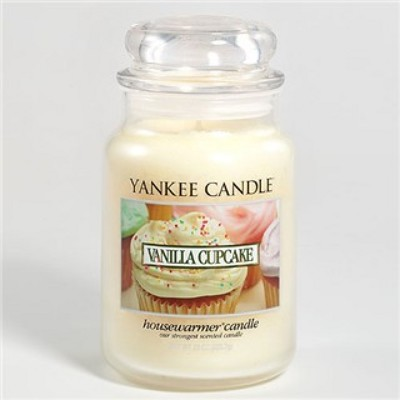 Jacques Flower Shop - Manchester Yankee Candle Vanilla Cupcake Jar