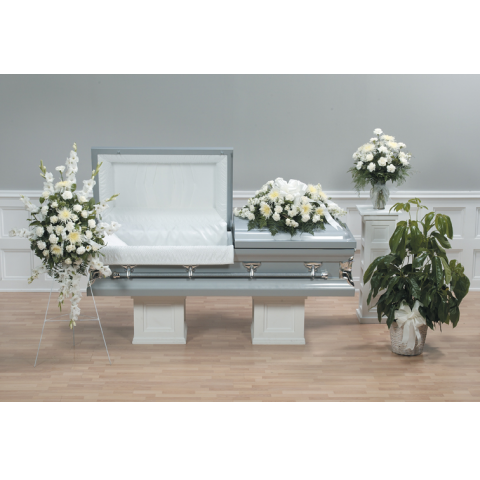 CASKET SPRAY AND COORDINATING DESIGNS