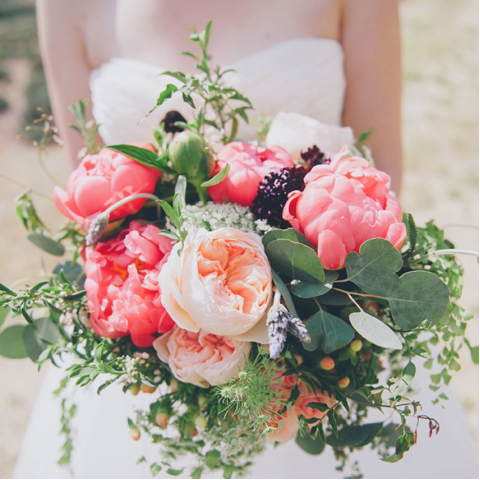 Peonies and Blush Bouquet