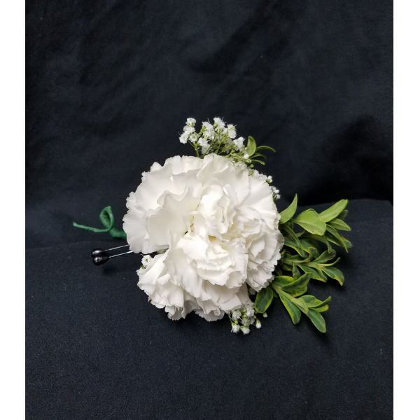 Basic Carnation Boutonniere