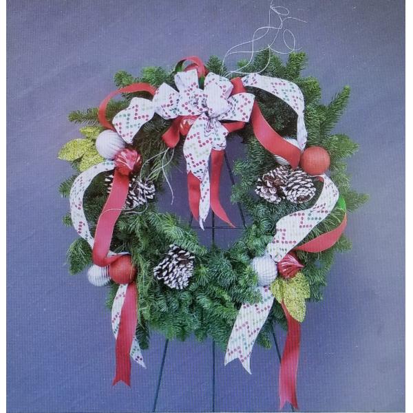 Christmas Wreath Design Class