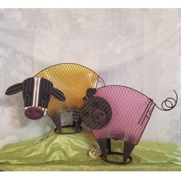 Garden Sculpture Solar Animals