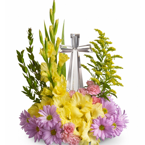 Crystal Cross by Teleflora