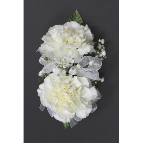 Double Carnation Corsage