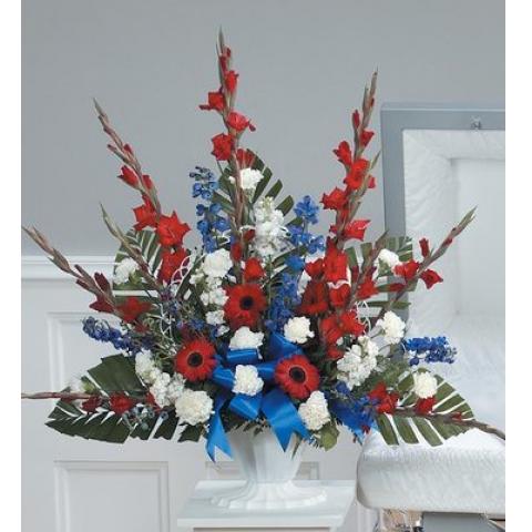 Red, White and Blue Mache CTT28-11
