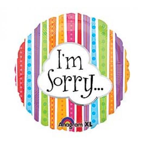 I'm Sorry Mylar