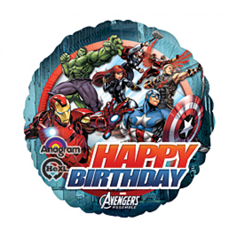 Happy Birthday Avengers Mylars