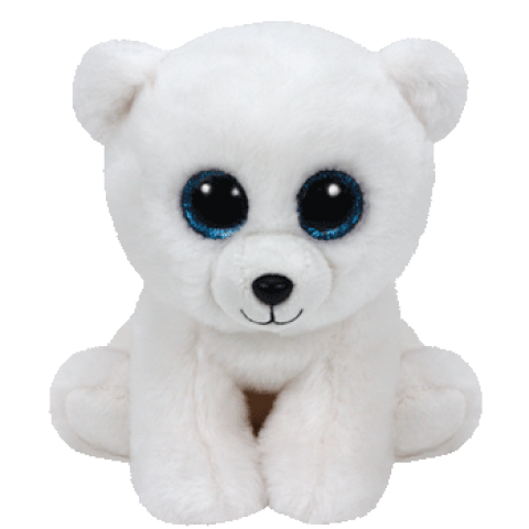 Arctic Beanie Boo- Medium