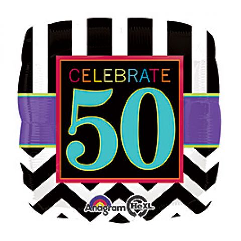 Celebrate 50 Mylar
