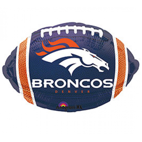 Broncos Football Mylar