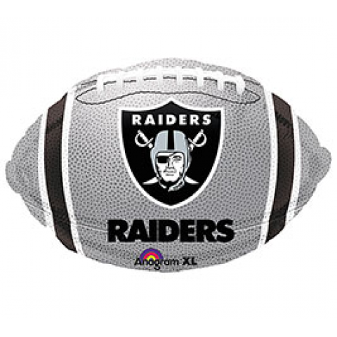 Raiders Football Mylar