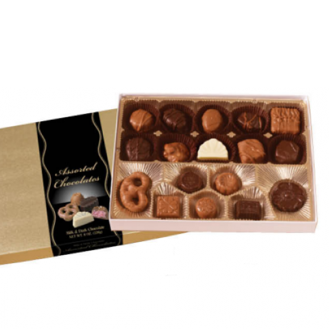 Gertrude Hawk Assorted Chocolates 8 oz Medium