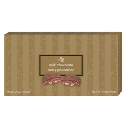 Milk Chocolates Nutty Pleasures 6 oz