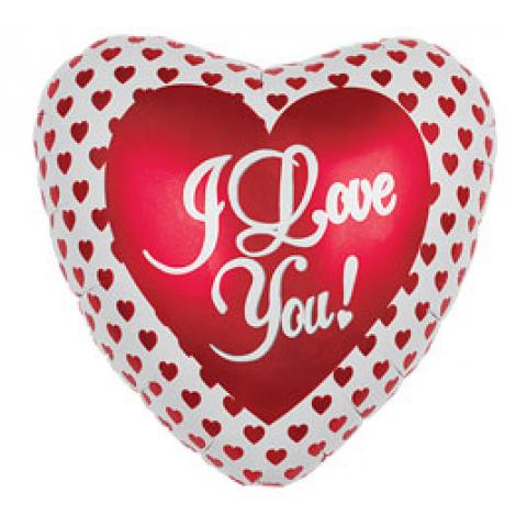 Oversized 36'' I Love You Hearts Mylar